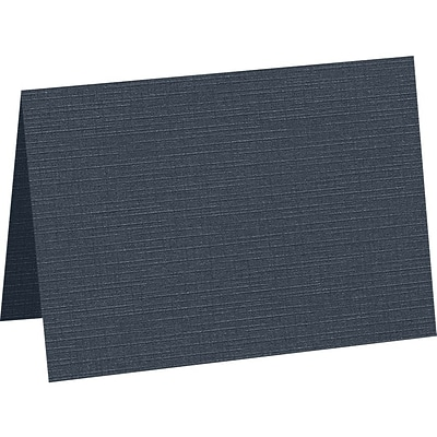 LUX A1 Folded Card , 3-1/2 x 4-7/8, Nautical Linen, 250/Pack (5040-BULI-500)