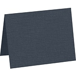 LUX A7 Folded Card, 5-1/8 x 7, Nautical Linen, 50/Pack (5060-BULI-50)