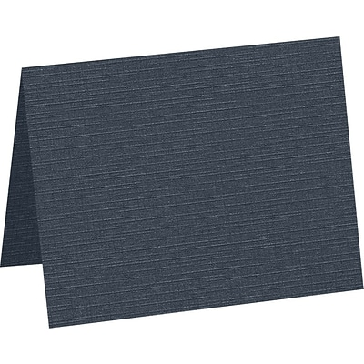 LUX A1 Folded Card , 3-1/2, x 4-7/8, 50/Pack, Nautical Linen (5010-BULI-50)