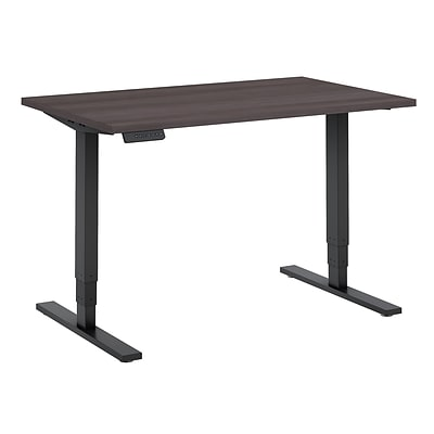 Move 80 by Bush Business Furniture 48W x 30D Height Adjustable Standing Desk - Installed, Storm Gray (HAT4830SGBKFA)