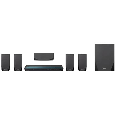 Sony BDVE2100-RB Refurbished Home Theater System, Black, 3D Blu-ray