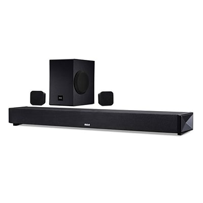 RCA RTS739BWS-RB Refurbished Sounds Bar System , Black, Bluetooth