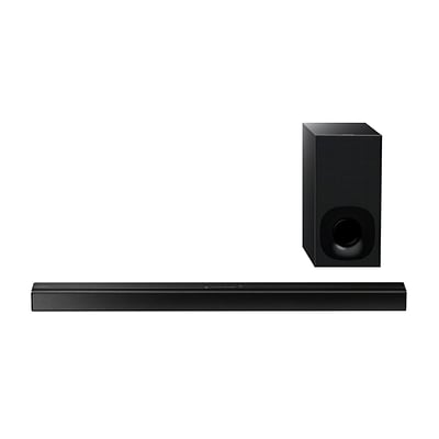 Sony HTCT180-RB Refurbished 2.1 Channel Sound Bar, Black, Wireless Subwoofer