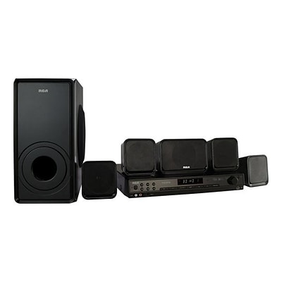 RCA RT2906-RB Refurbished 5.1 Channel Home Theater System,600 W, Black