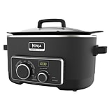 Ninja 6 QT Refurbished Multi Cooker 4 in 1 Slow Cooker in Black (MC900QBK-RB)