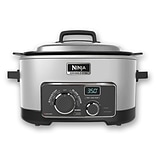 Ninja 6 QT Refurbished Multi Cooker 3 in 1 Cooking System in Platinum (MC702Q2PL-RB)