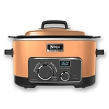 Ninja 6 QT Refurbished Multi Cooker 3 in 1 Cooking System in Copper (MC702Q2CP-RB)