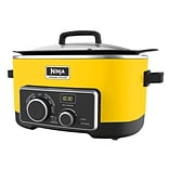 Ninja 6 QT Refurbished Multi Cooker 4 in 1 Slow Cooker in Yellow (MC900QY-RB)