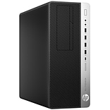 HP® EliteDesk 800 G3 2DR52UT Intel Core i7-7700, 512GB SSD, 8GB, WIN 10 Pro, NVIDIA GTX1080 Desktop