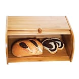 Lipper International® Bamboo Rolltop Bread Box, Brown (8846)
