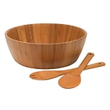 Lipper International® 3 iece Bamboo Salad Bowl with Servers (82083)