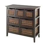 Whitmor Bahama 31.9 7-Drawer Storage Chest, Espresso (64277951ESPRBB)