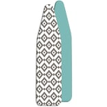 Whitmor Reversible Ironing Board Cover and Pad, Diamond Gray/White (68805544DIAMOND)