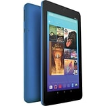 Ematic 7 Tablet, WiFi, 16GB (Android), Blue (EGQ373BU)