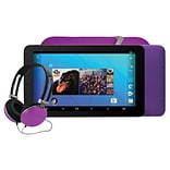 Ematic 7 Tablet, WiFi, 1GB (Android), Purple (EGQ373PR)
