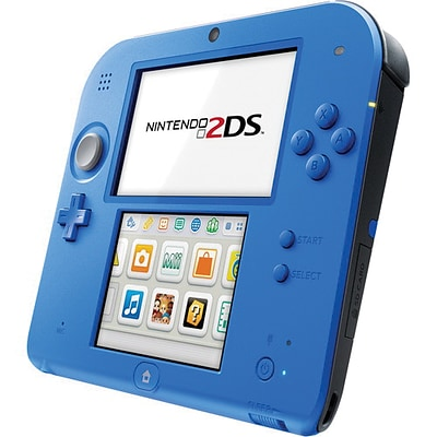 Nintendo® 2DS 128MB Handheld Game Console with Mario Kart 7, Electric Blue
