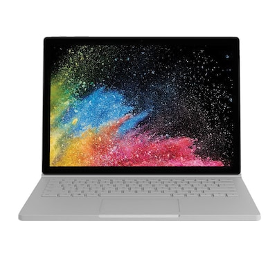"Microsoft® Surface Book 2 FVH-00001 15"" 2-In-1 Laptop, 1TB SSD, Windows 10 Pro, Silver"