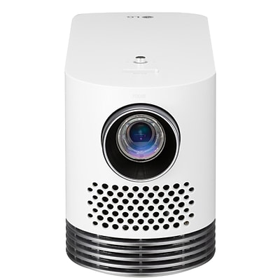 LG® HF80JA Full HD Smart Home Theater DLP Projector, White