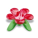 Koziol AUDREY Tea Strainer Grass Green with Transparent Red/White (3231590)
