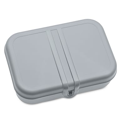 Koziol PASCAL L Lunch Box with Separator Cool Grey with White (3152456)
