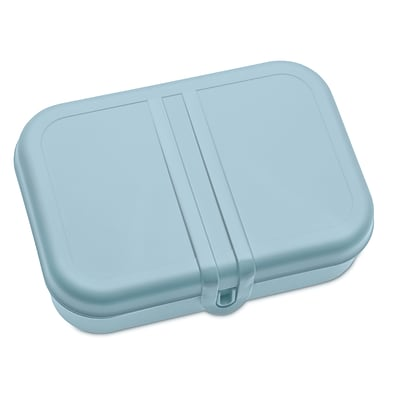 Koziol PASCAL L Lunch Box with Separator Powder Blue with White (3152414)