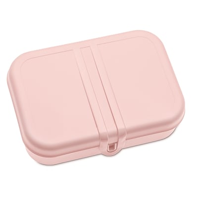 Koziol PASCAL L Lunch Box with Separator Powder Pink with White (3152413)