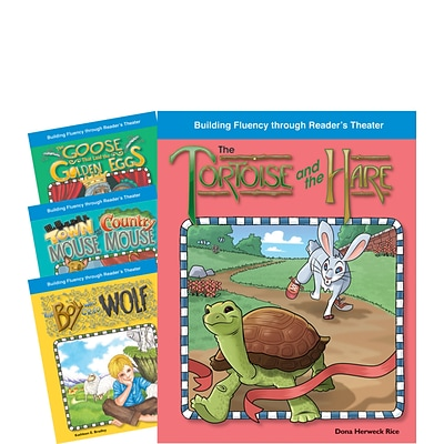 Teacher Created Materials Reader's Theater, Fantastic Fables Set 1 4-Book  Set (22855)
