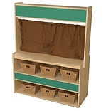 Wood Designs Farmers Stand with 6 Baskets (990874-718)