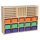 Contender™ Multi-Storage with (15) Assorted Pastel Trays - RTA (C14003AP)
