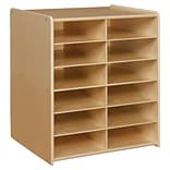 Contender™ 12 Letter Tray Cubby Storage Without Trays - RTA (C990659)