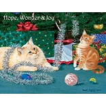 LANG KITTEN CHRISTMAS BOXED CHRISTMAS CARDS (1004758)