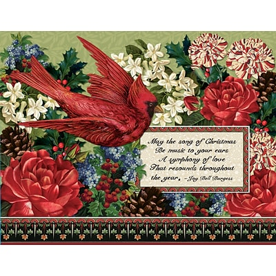 lang song of christmas boxed christmas cards 1004769