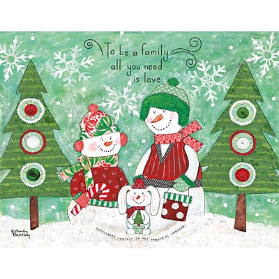 Lang Family Love Boxed Christmas Cards (1004800)