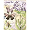 LANG Field Guide 6 1/2W x 8 1/2H Address Book by Susan Winget, Hydrangeas and Butterflies (1013241