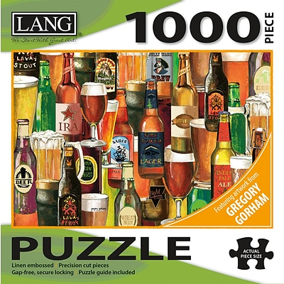 Lang Crafted Brews Puzzle - 1000 Pc (5038028)