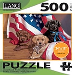 LANG AMERICAN PUPPY PUZZLE - 500 PC (5039104)