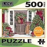LANG HOLIDAY DOOR PUZZLE - 500 PC (5039115)
