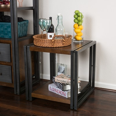 Noble House Villa Side Table Dark Oak (296326)