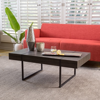 Noble House Carr Coffee Table Black (298315)