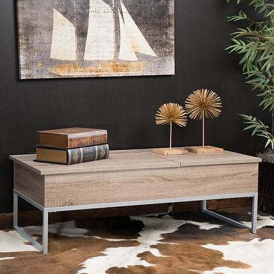 Noble House Mejia Coffee Table Dark Sonoma (295887)