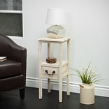 Noble House Cannon Accent Table Brushed Morning Mist (295249)