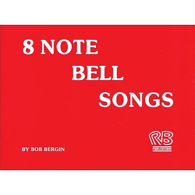 Rhythm Band 8 Note Bell Song Book, 20 Songs