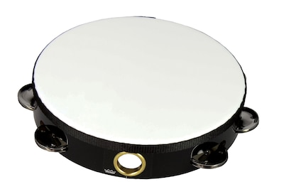 "Remo Melinex Tambourine, 10"", Black"