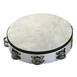 Remo Fiberskyn Double Tambourine, 8, Wh