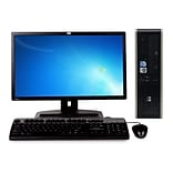 Refurbished HP Dc5800 Sff Core 2 Duo E2200 2.2Ghz 8GB Ram 2Tb Hard Drive DVDRW Windows 10 Home Bundl