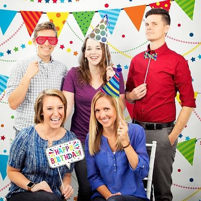 Creative Converting Birthday Party Photo Booth Kit (DTCBDAY1P)