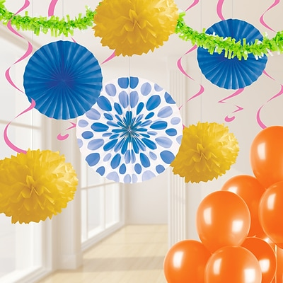 Creative Converting Bright Party Decorations Kit (DTCBRGHT1A)