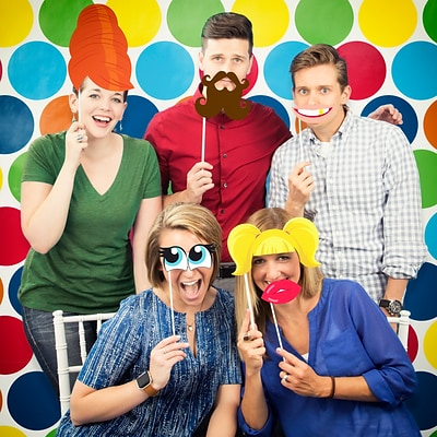 Creative Converting Funny Faces Photo Booth Kit (DTCFACES1P)