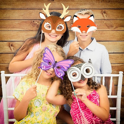 Creative Converting Forest Animals Photo Booth Kit (DTCFREST1P)