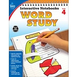 Interactive Notebooks Word Study, Grade 4 Paperback (104950)